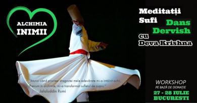 Alchimia Inimii - Meditatii Sufi si Dansuri Dervish cu Deva K.