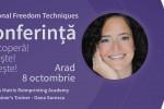 Vedeti detalii pentru Arad.Conferinta. Tehnici de Eliberare Emotionala cu Oana Sorescu
