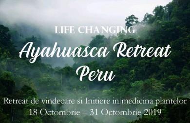 Ayahuasca Retreat Vindecare si Initiere in medicina plantelor