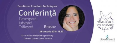 Brasov. conferinta eft cu oana sorescu