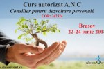 See Brasov. Curs consilier pentru dezvoltare personala � autorizat ANC details