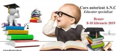 Brasov. Curs Educator Specializat – acreditat ANC