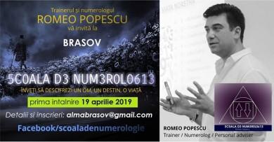 Brasov, Scoala de Numerologie Romeo Popescu.