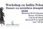 See Bucuresti. Atelier Desen cu emisfera dreapta cu Iudita Pelea details