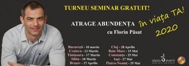 Bucuresti. Seminar gratuit – Atrage Abundenta in Viata Ta!