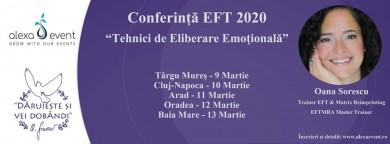 """Cluj-napoca.conferinta """"tehnici de eliberare emotionala"""" (eft)"""