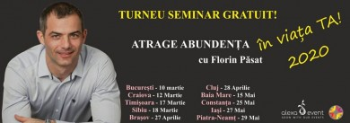 Cluj. Seminar gratuit – Atrage Abundenta in Viata Ta!