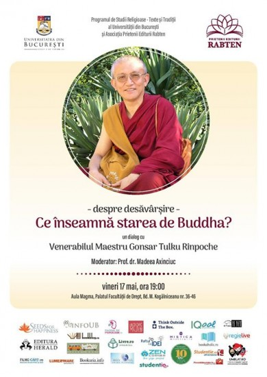 Conferinta - Despre desavarsire: ce inseamna «starea de Buddha»
