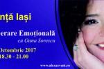 Vedeti detalii pentru Conferinta Iasi:Tehnicile Eliberare Emotionala cu Oana Sorescu