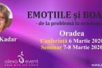 Vedeti detalii pentru Conferinta Oradea. Emotiile si boala cu Edith Kadar