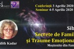 Vedeti detalii pentru Conferinta Sibiu.Secrete de Familie si Traume cu dr. Edith Kadar