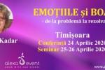 Vedeti detalii pentru Conferinta Timisoara. Emotiile si boala cu dr Edith Kadar