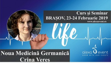 Crina Veres - Curs si Seminar Noua Medicina Germanica Brasov