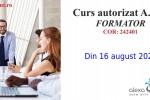 Vedeti detalii pentru Curs autorizat - formator - online