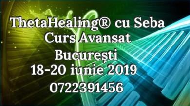 Curs Avansat Thetahealing, Bucuresti