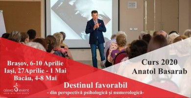Curs Bacau: Destinul Favorabil cu Anatol Basarab