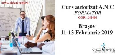 Curs Brasov Formator 2019