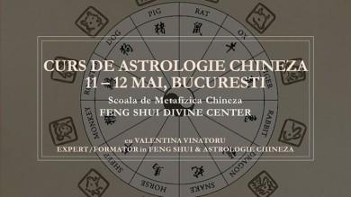 Curs de Astrologie Chineza Traditionala, 11-12 Mai, Bucuresti