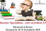 See Curs Educator Specializat - Acreditat ANC - Bucuresti / Brasov details