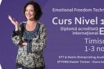 Vedeti detalii pentru Curs EFT Nivel 1 si 2 cu Oana Sorescu la Timisoara