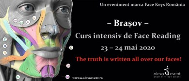 Curs intensiv de Face Reading in Brasov marca Face Keys
