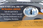 See Curs intensiv Taijiquan stilul Chen traditional details