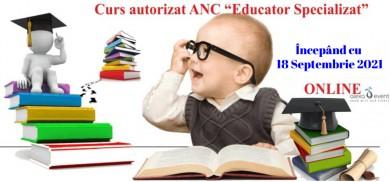Curs Online de Educator Specializat – acreditat ANC Septembrie 2021