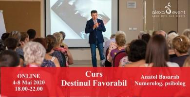 Curs Online - Destinul Favorabil cu Anatol Basarab