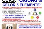 See Curs Qigong-ul celor 5 Elemente Cezar Culda 12 -16 Nov 2018 Timisoara details
