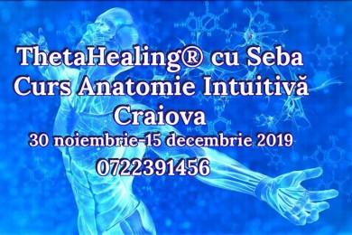 Curs thetahealing® anatomie intuitiva, craiova