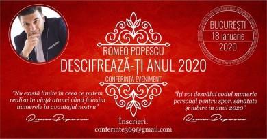 Descifreaza-ti Anul 2020 - conferinta Bucuresti