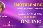 Vedeti detalii pentru Emotiile si boala cu Edith Kadar. Seminar Online