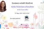 Vedeti detalii pentru Feminitate si sexualitate cu terapeut Laura Calina. Atelier online caritabil