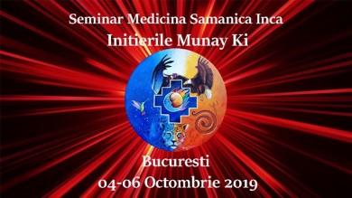 Introducere Si Initiere in Traditia Inca Octombie 2019