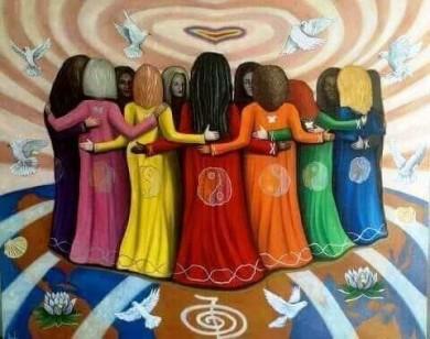 Luna noua si energia feminina - cercul femeilor constiente