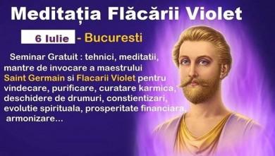 Meditatia Flacara Violet - Gratuit