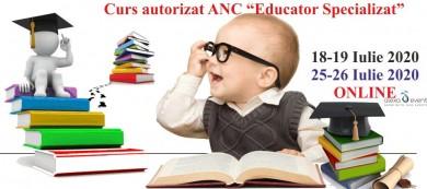 Online. Curs autorizat ANC - Educator Specializat