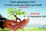 Vedeti detalii pentru Online - Curs Autorizat - Consilier pentru dezvoltare personala