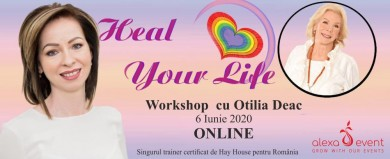 Online ! Poti sa-ti vindeci viata® – workshop oficial Louise Hay
