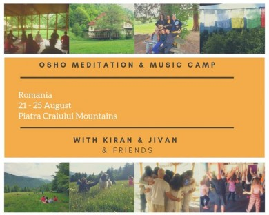 OSHO® Meditation & Live Music Camp 2019 - Romania