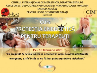 Protectia energetica pentru terapeuti