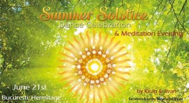 Pure joy* summer solstice celebration* dance& meditation evening