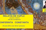 See Relatia de CUPLU, arta de a fi impreuna. Conferinta. Trainer, numerolog  details