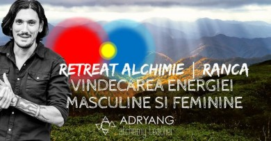 Retreat Alchimie: Vindecarea Energiei Masculine & Feminine