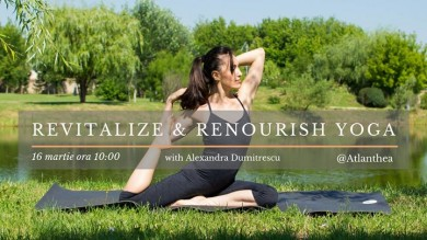 Revitalize & renourish Yoga with Alexandra