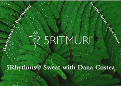 5Rhythms® Sweat with Dana Costea