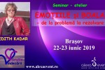 See Seminar. Emotile si boala cu Edith Kadar details