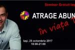See Seminar gratuit - Atrage Abundenta in Viata Ta! - Iasi details