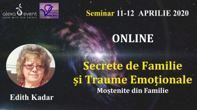 Seminar Online.Secrete de Familie si Traume Emotionale Mostenite
