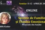 Vedeti detalii pentru Seminar Online.Secrete de Familie si Traume Emotionale Mostenite